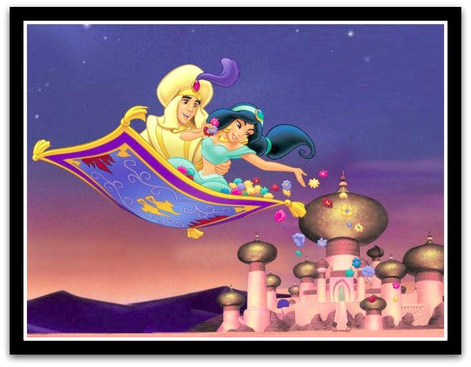 Carrelage design tapis aladin moderne design pour for Aladdin carpet ride scene